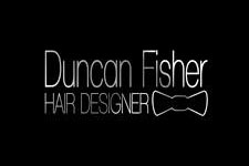 duncan fisher hair designer logo