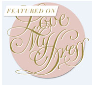 love my dress blog logo featuring the word is love