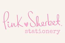 pink sherbet stationary logo