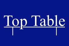 top table event catering logo