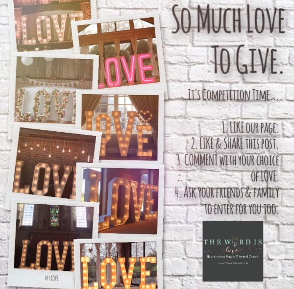 SO MUCH LOVE TO GIVE – COMPETITION