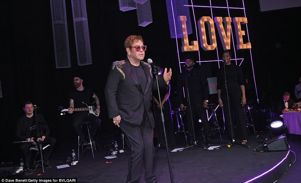 TWIL at Elton John Aids Foundation, London