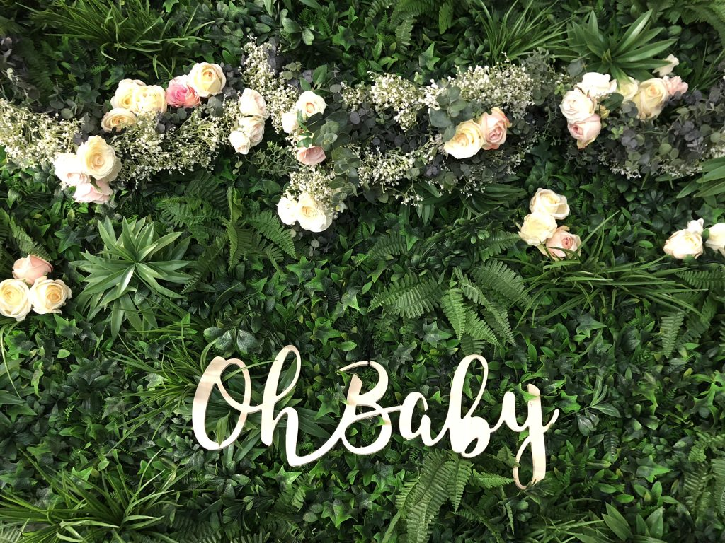 Babyshower Backdrop