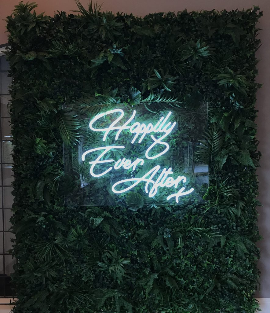 Happily Ever After wedding Sign hire