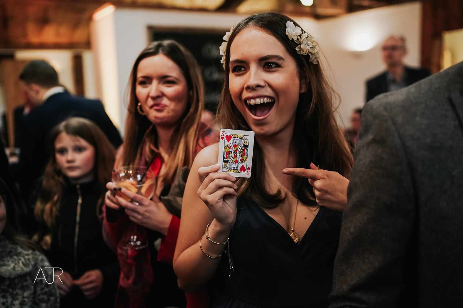 sam fitton manchester wedding magician